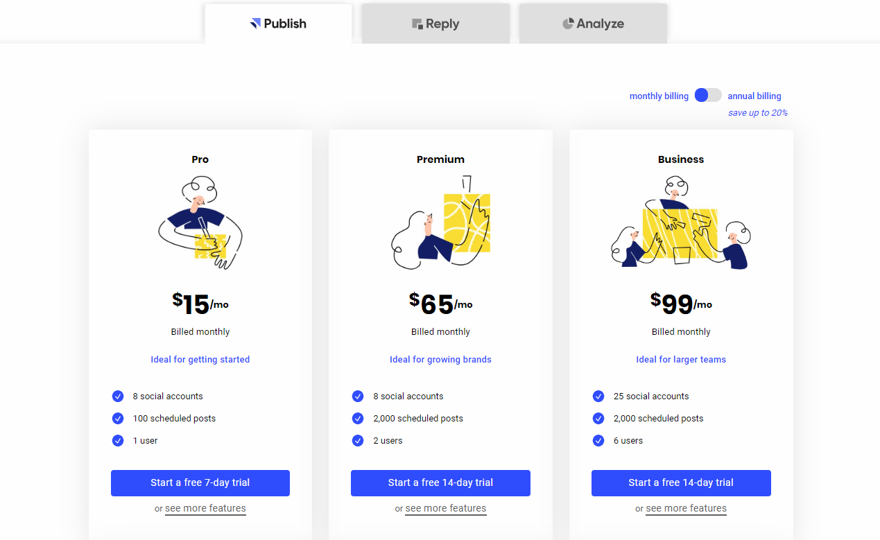 Buffer Publish Prices