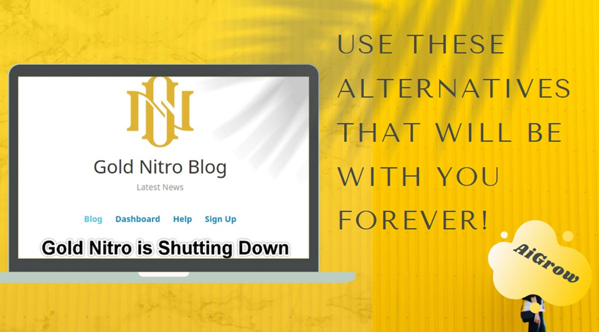 Goldnitro down? Use these alternatives that will be with you forever!